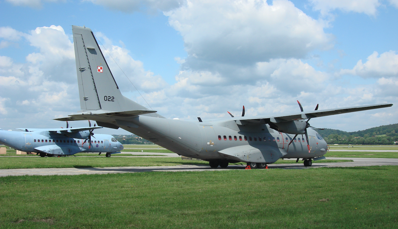 CASA C-295 M nb 022. 2009. Photo by Karol Placha Hetman