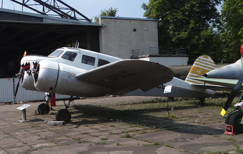 Cessna UC-78 Bobcat SP-GLC. 2019 rok. Zdjęcie Karol Placha Hetman