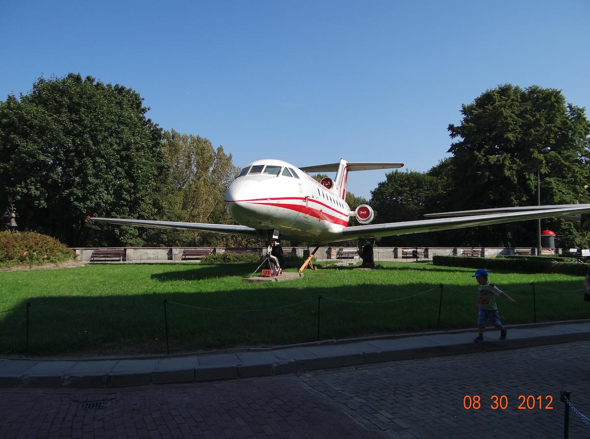 Jak-40 nr 9840659 nb 044. 2012 rok. Zdjęcie Karol Placha Hetman
