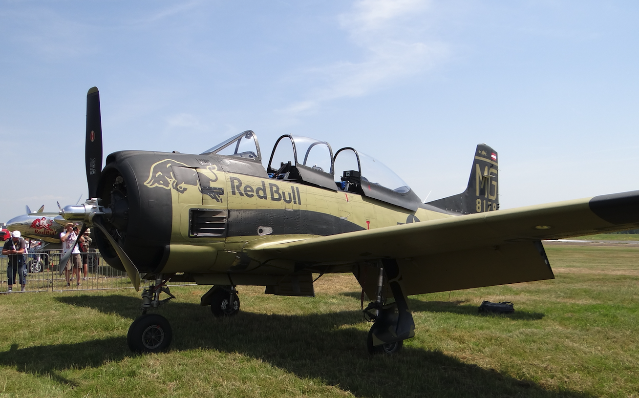 T-28 B Trojan. 2019. Photo by Karol Placha Hetman