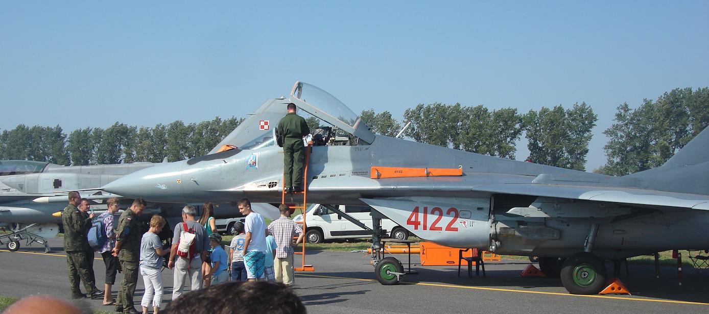 MiG-29. 2011. Photo by Karol Placha Hetman