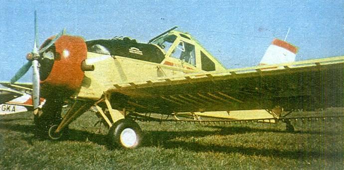 PZL-106 A Kruk 1977r. Zdjęcie PZL
