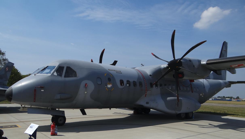 CASA C-295 M nb 027. 2017 rok. Zdjęcie Karol Placha Hetman