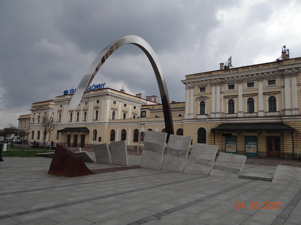 Pomnik poświęcony Ryszardowi Kuklińskiemu. 2021 rok. Zdjęcie Karol Placha Hetman