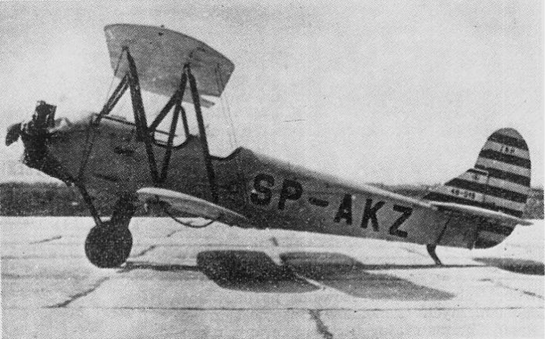 CSS-13 nr 48-015 rejestracja SP-AKZ prototyp. Samolot seryjnie produkowany w PZL Mielec. Lotnisko Okęcie. 1948 rok. Zdjęcie LAC