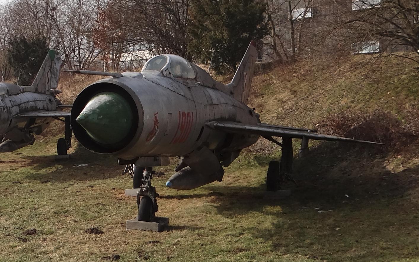MiG-21 PF nb 1901. Kraków 2021 year. Photo by Karol Placha Hetman