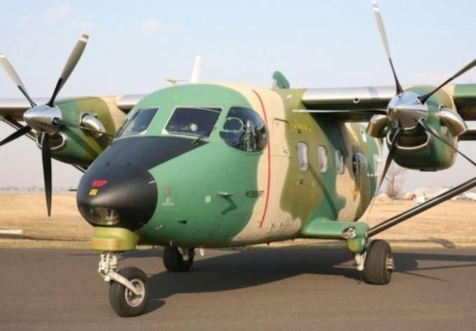 Nowy M-28 dla Polskich Sił Powietrznych. Samolot został wyposażony w szklany kokpit. 2011r.