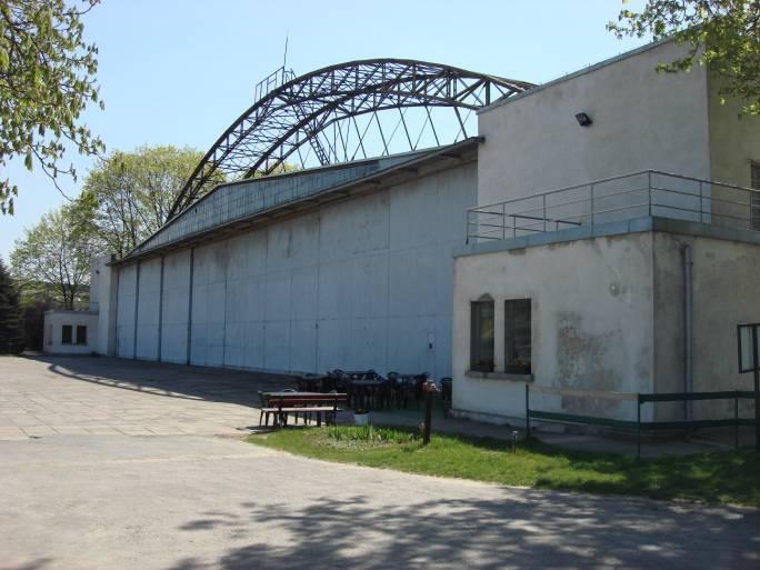 Główny hangar MLP. 2009r.