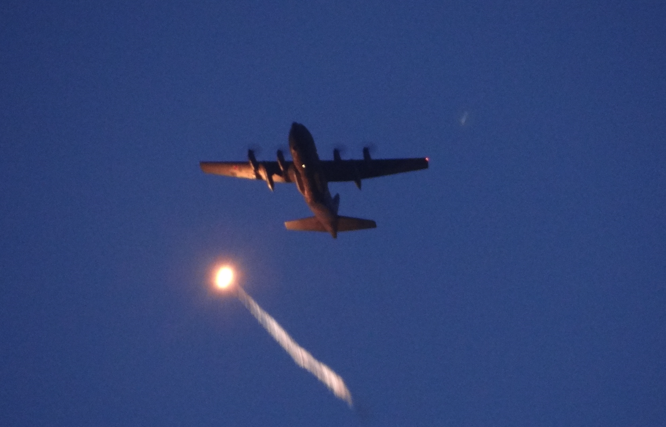 Lockheed C-130 Hercules. 2021. Photo by Karol Placha Hetman
