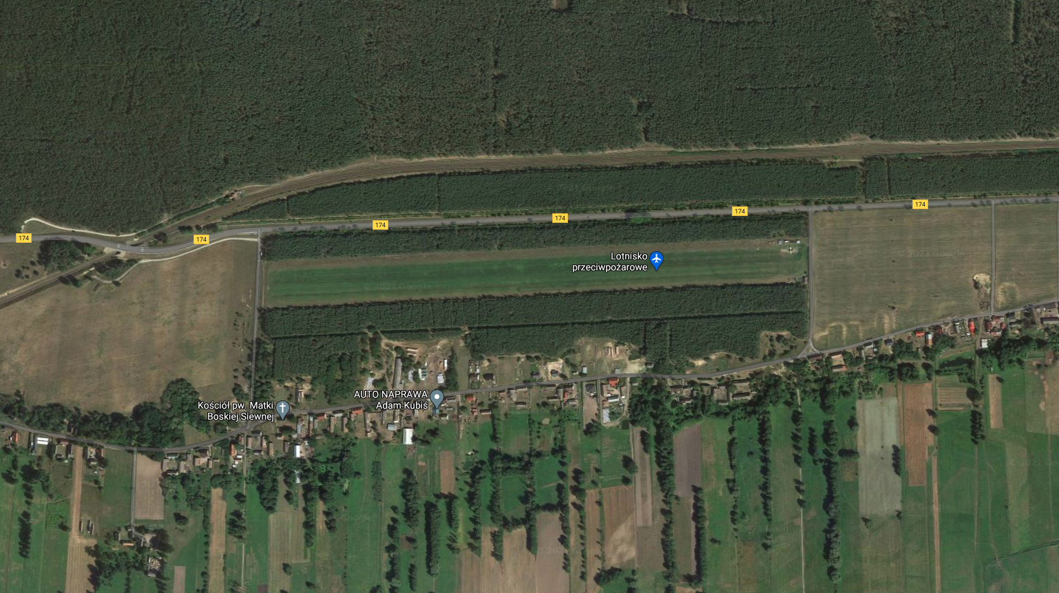 Airport Wieleń, Herburtowo