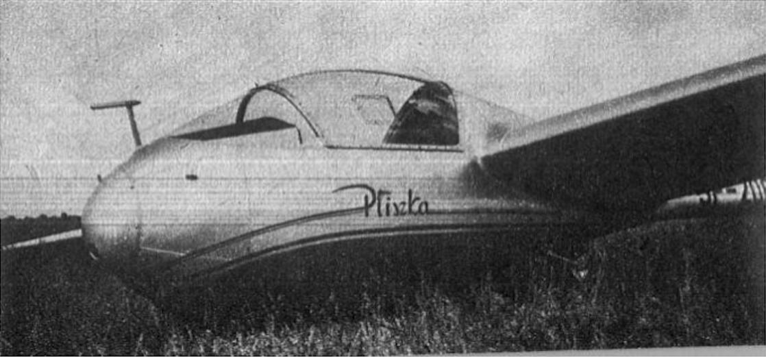 PZL M-3 Pliszka szybowiec. Zdjęcie LAC