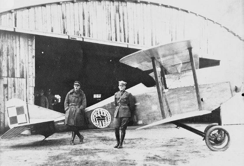 Ansaldo A-1 Balilla w Eskadrze Kościuszkowskiej. 1920 rok. Zdjęcie LAC