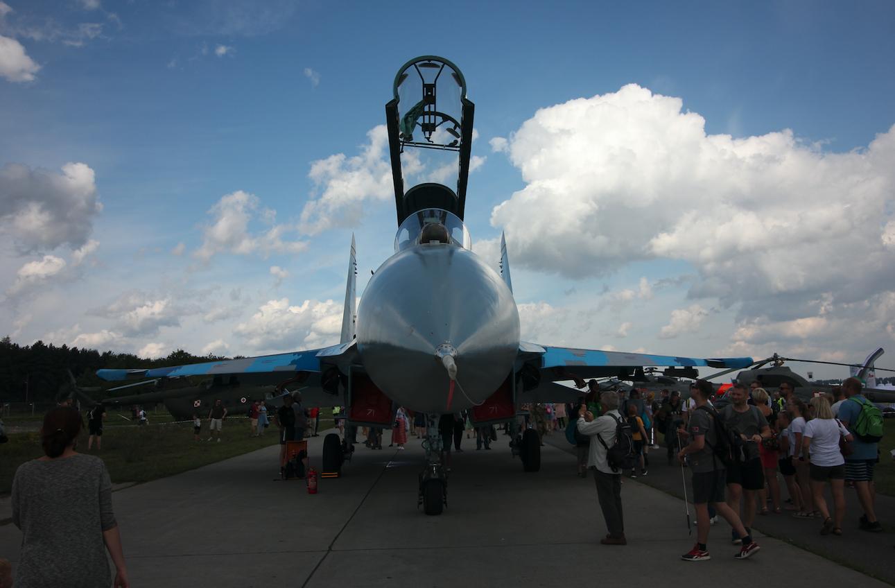 Suchoj Su-27. Babie Doły 2019 rok. Zdjęcie Waldemar Kiebzak