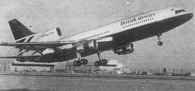 Lockheed L-1011-500 British Airways. 1979 rok. Zdjęcie Lockheed