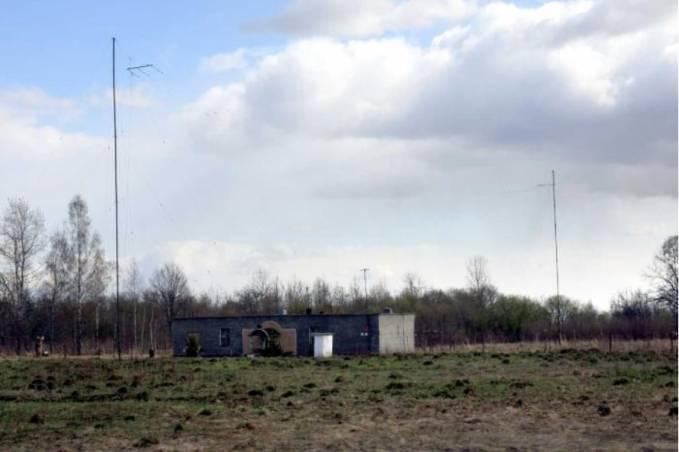 Lotnisko Smoleńsk. Radiolatarnia dalsza DRP. Zdjęcie LAC