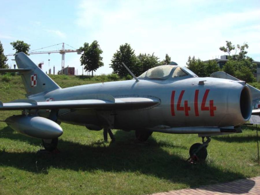 PZL Lim-5 nb 1414. 2007 year. Photo by Karol Placha Hetman