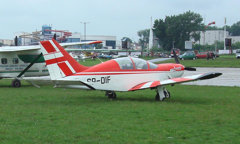 PZL M-26 Iskierka. 2008 rok. Zdjęcie Karol Placha Hetman