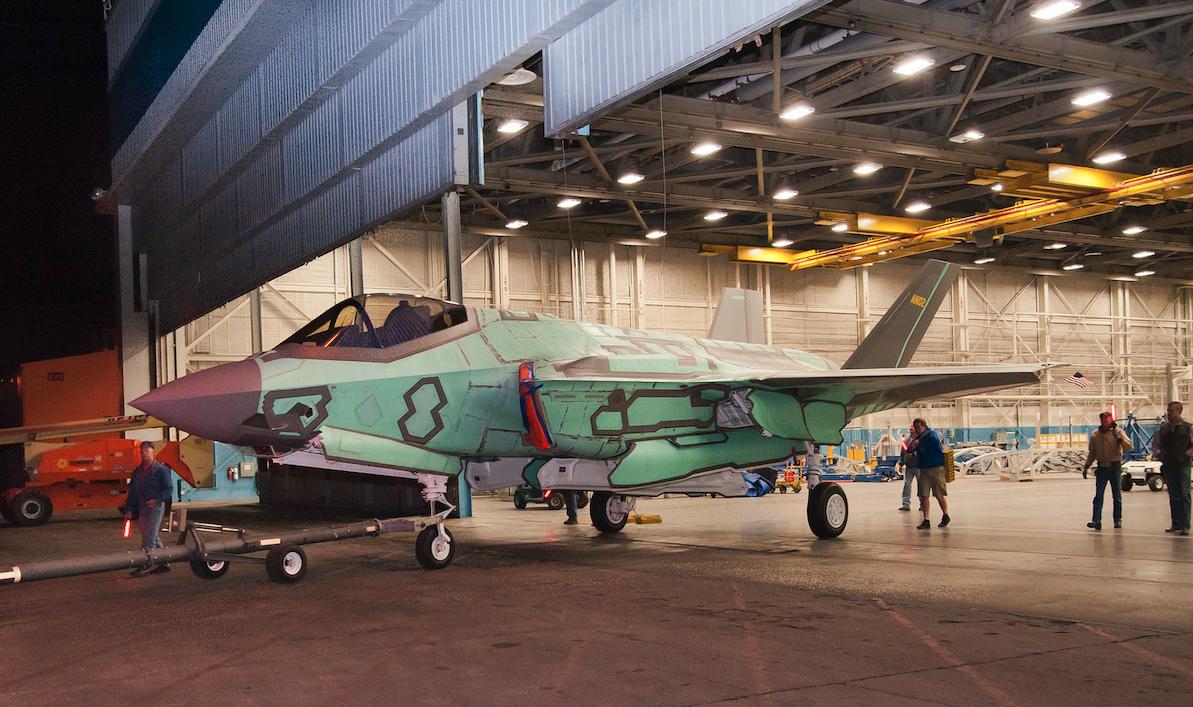 Lockheed F-35. 2018. Photo by Lockheed Martin