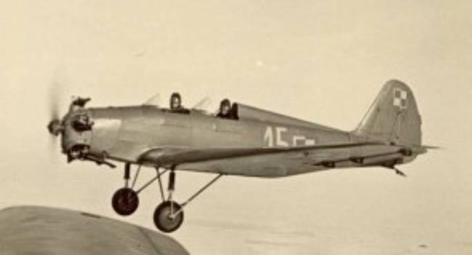 Samolot typu UT-2. 1945r.