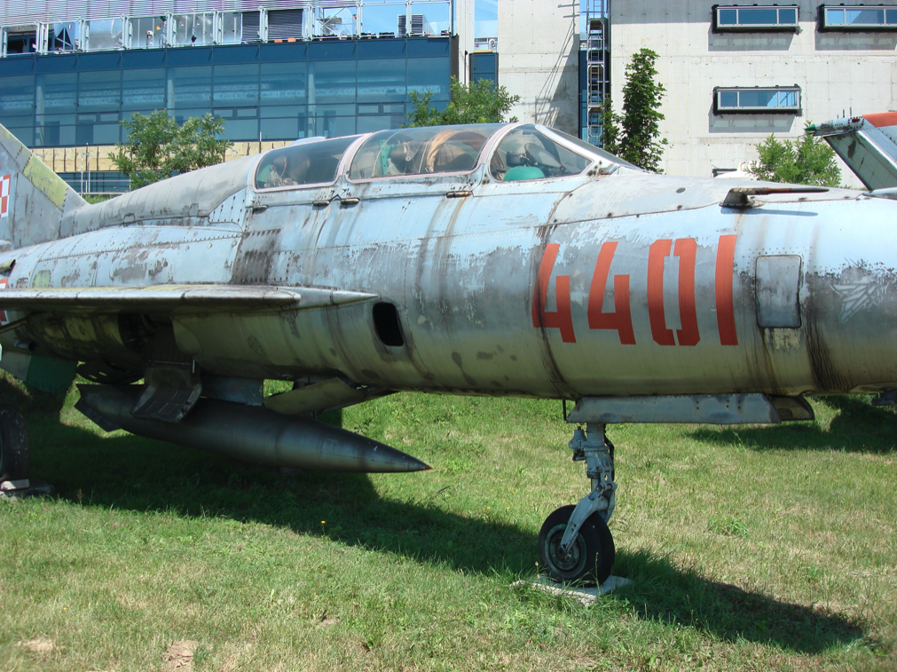 MiG-21 US nb 4401. Czyżyny 2007 rok. Zdjęcie Karol Placha Hetman