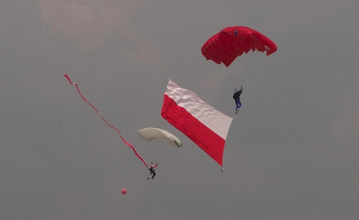 XI Małopolski Piknik Lotniczy Czyżyny 2015 rok. Zdjęcie Karol Placha Hetman