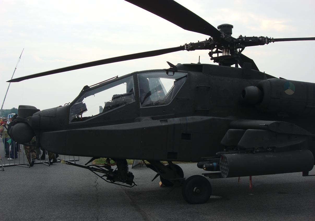 AH-64 Apache Holandia. 2009 rok. Zdjęcie Karol Placha Hetman