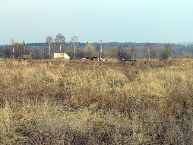 Lotnisko Smoleńsk. Radiolatarnia bliższa BRP.Zdjęcie LAC