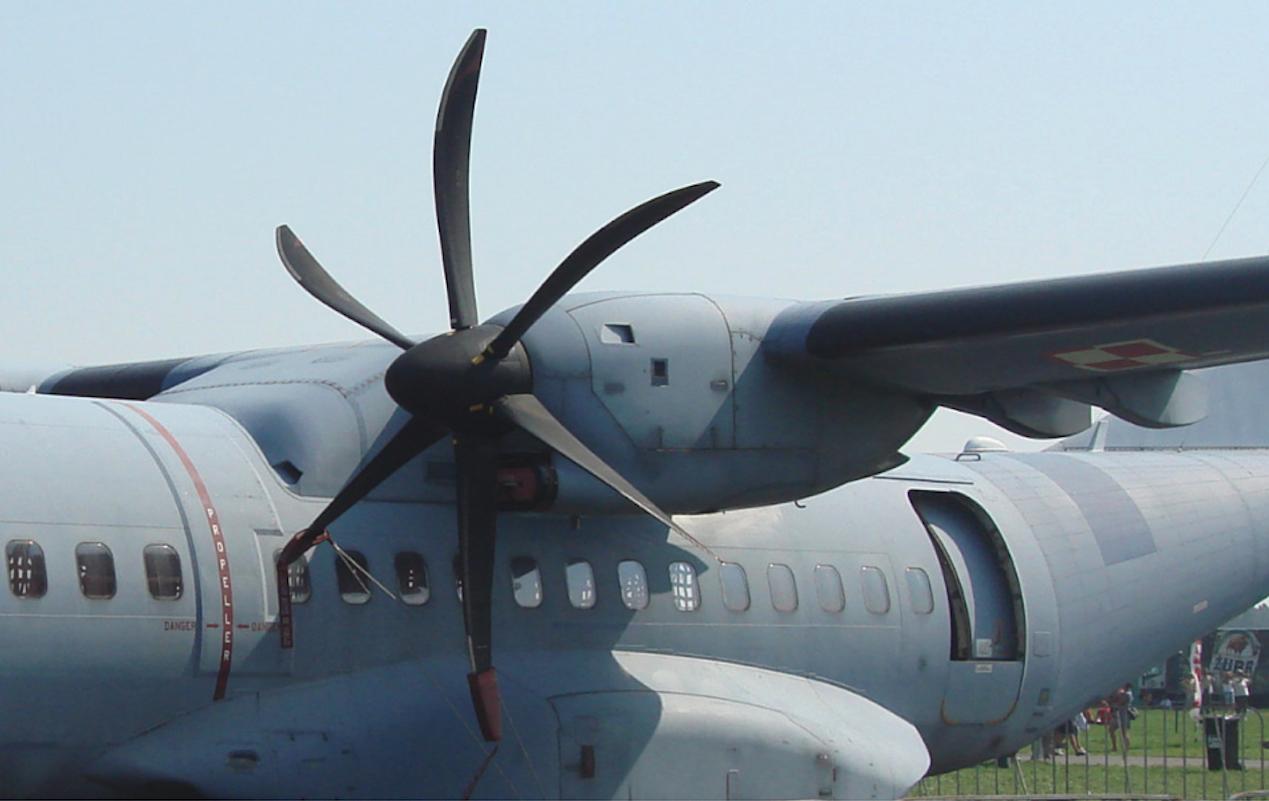 CASA C-295M Nb 015 z silnikami Pratt & Whitney Canada PW127G. 2011 rok. Zdjęcie Karol Placha Hetman