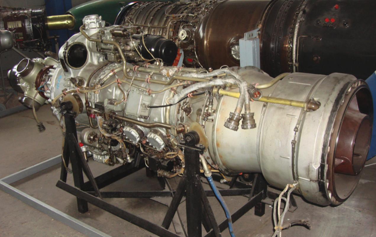 Silnik Iwczenko AI-24. 2013 rok. Zdjęcie Karol Placha Hetman