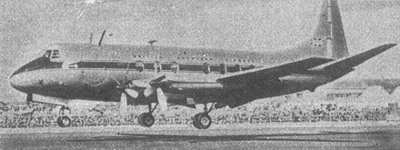 Vickers Viscount 1955 rok. Zdjęcie Vickers