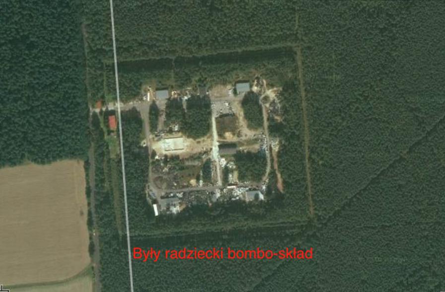 Były radziecki bombo-skład. 2010 rok. Zdjęcie LAC