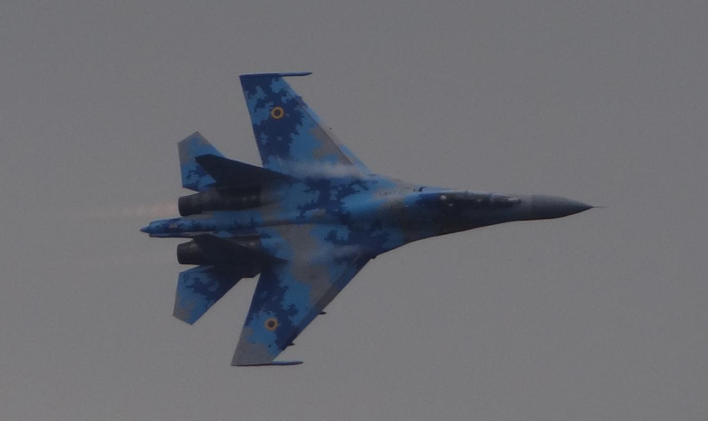Suchoj Su-27 UB nb 71. Ukraina. 2018 rok. Zdjęcie Karol Placha Hetman