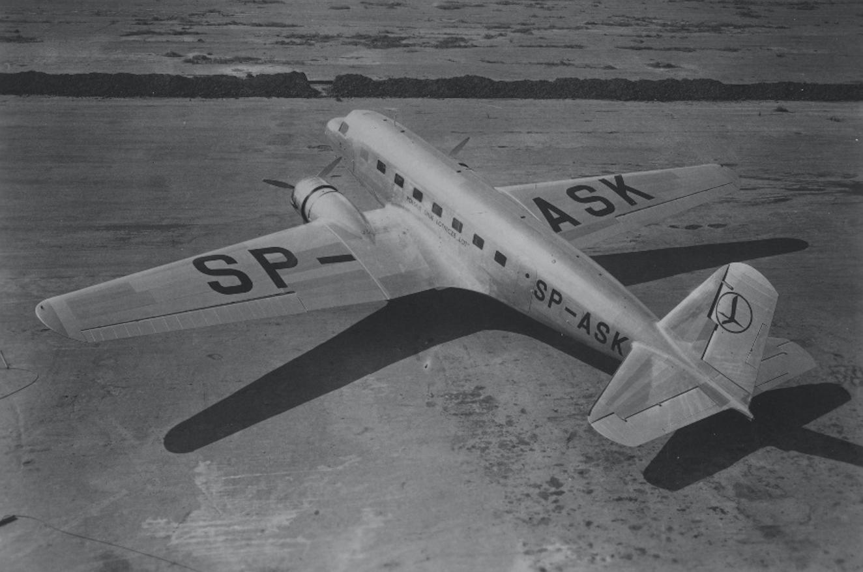 Douglas DC-2 SP-ASK. 1936 rok. Zdjęcie LAC