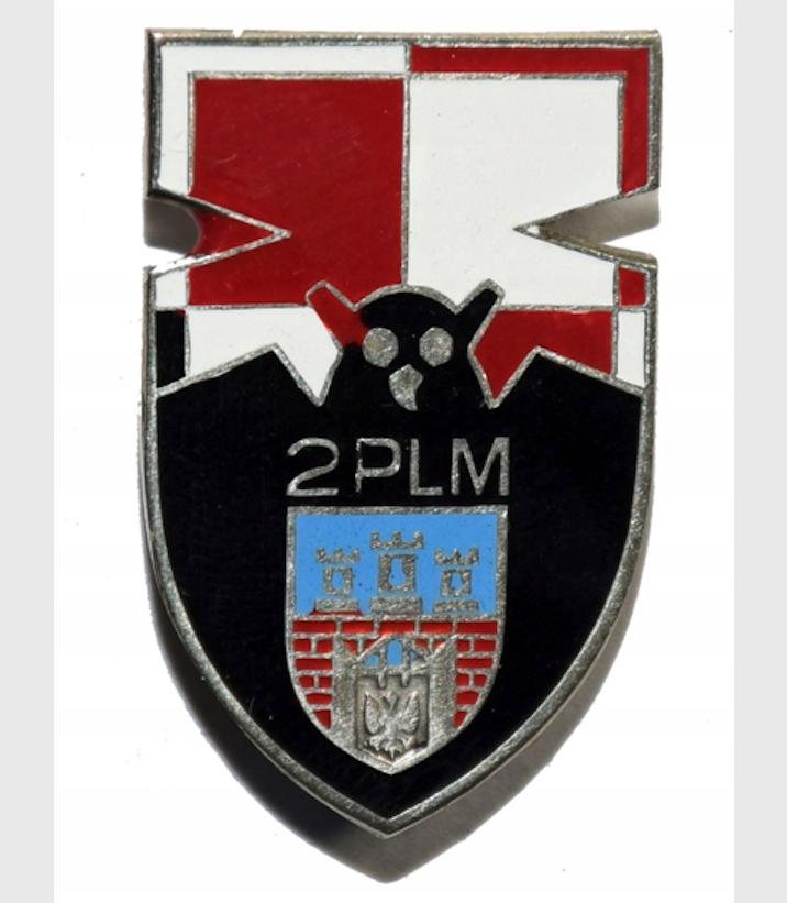 Godło 2 Pułku Lotnictwa Myśliwskiego w Goleniowie