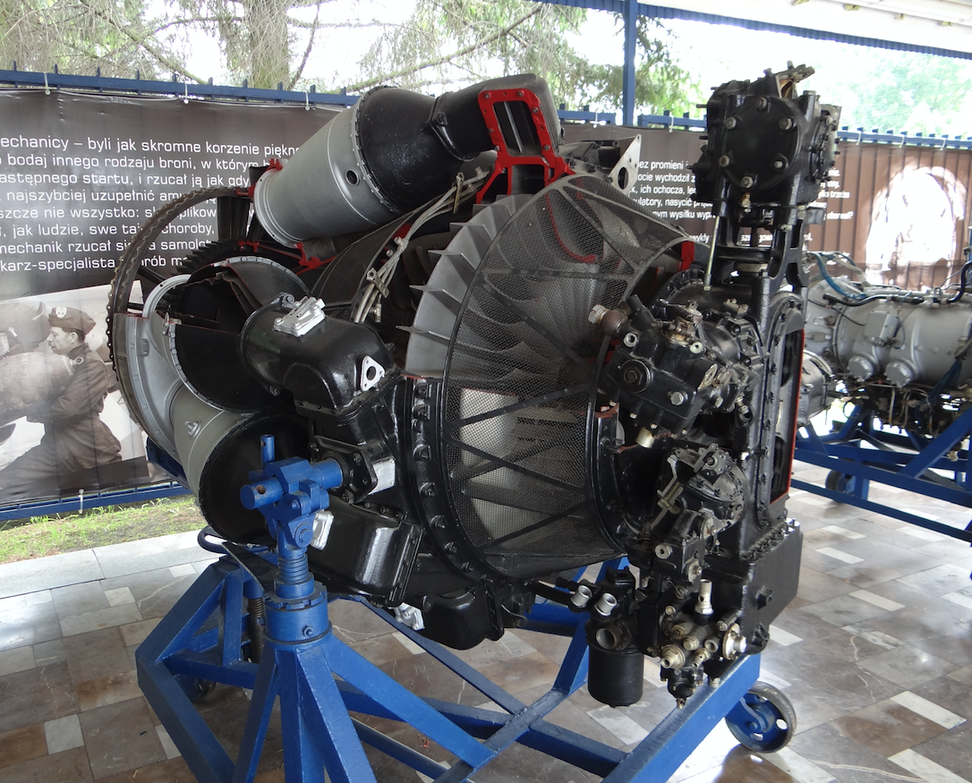 Silnik Lis-5. 2012 rok. Zdjęcie Karol Placha Hetman