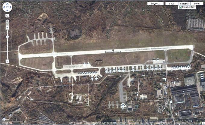 Lotnisko Smoleńsk Południowy. 2010 rok.