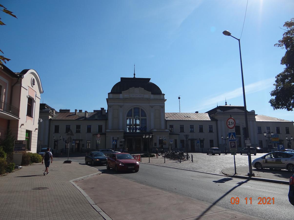 PKP Tarnów. 2021 rok. Zdjęcie Karol Placha Hetman