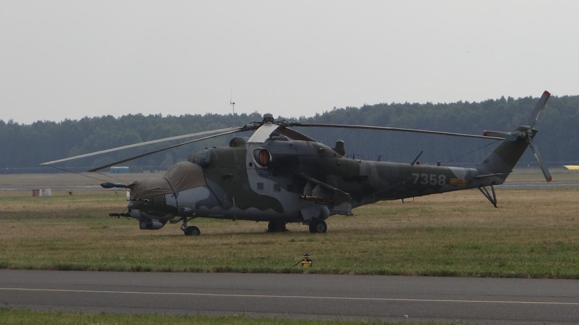 Czechy Mil Mi-24 Nb 7358. 2017 rok. Zdjęcie Karol Placha Hetman