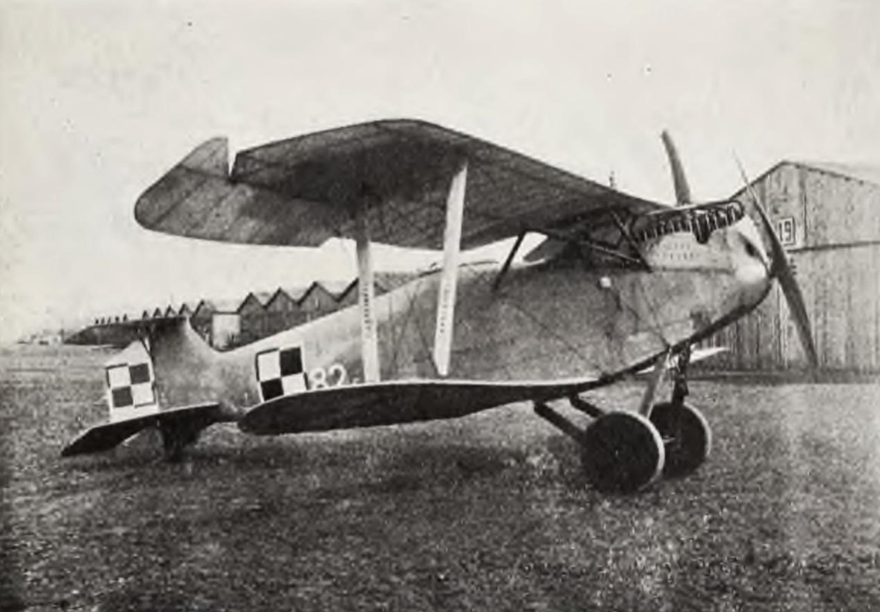 Hannover CL-II Pole Mokotowskie. 1919 rok. Zdjęcie LAC