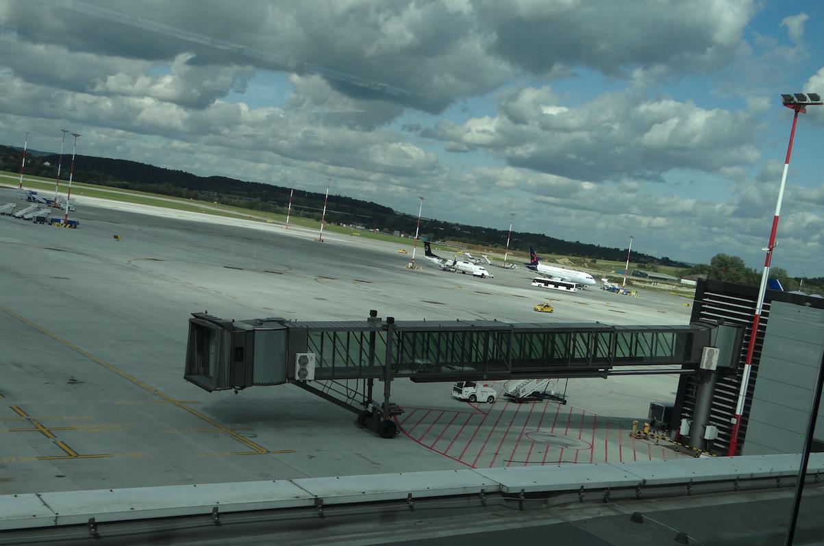Airport Krakow - Balice. 2019 year. Photo by Karol Placha Hetman