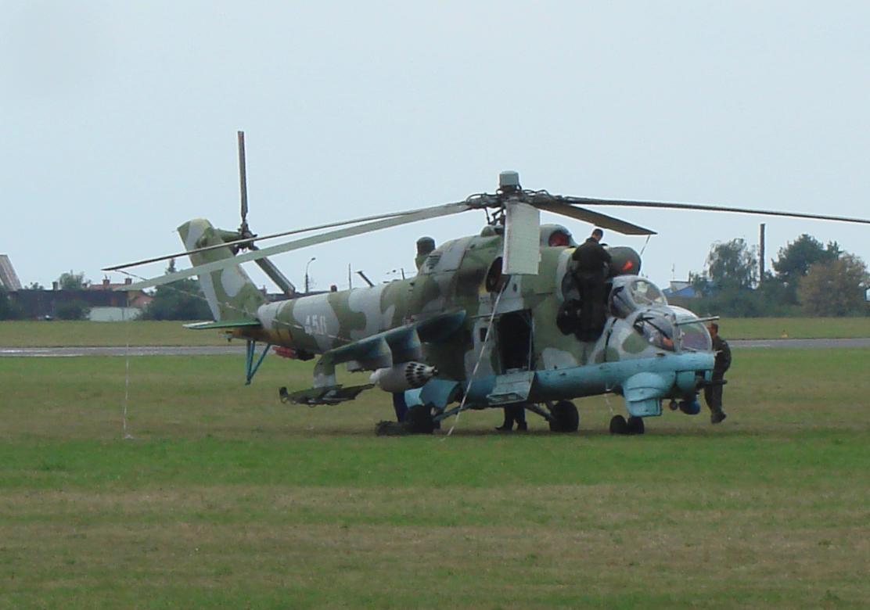 Mil Mi-24 Nb 456. 2007 rok Zdjęcie Karol Placha Hetman