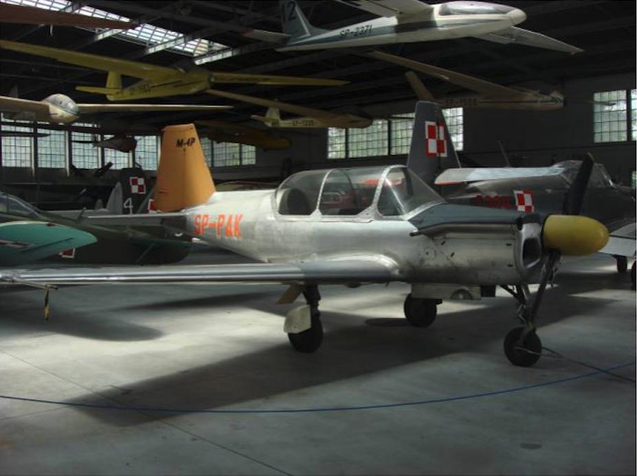 PZL M-4 Tarpan Muzeum Lotnictwa Polskiego. 2011 rok. Zdjęcie Karol Placha Hetman