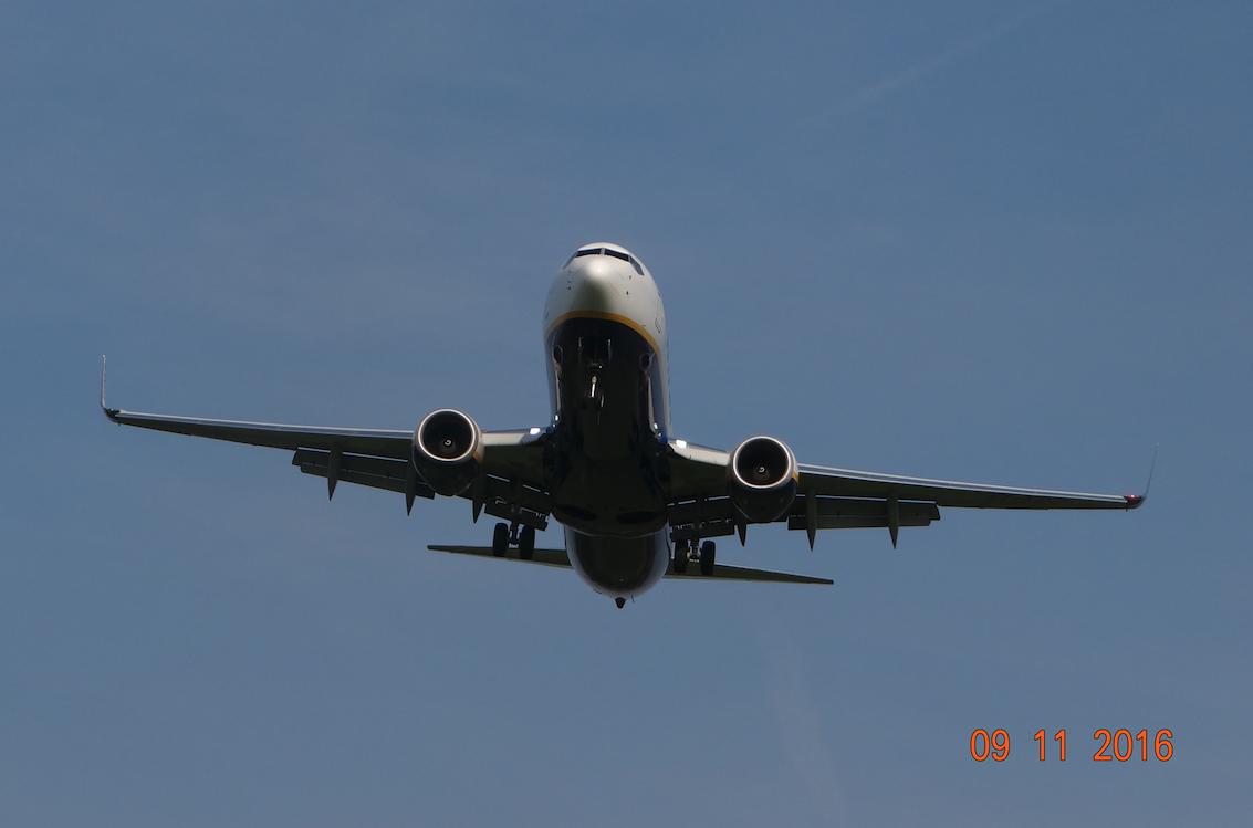 Boeing B-737-800. 2016 rok. Zdjęcie Karol Placha Hetman