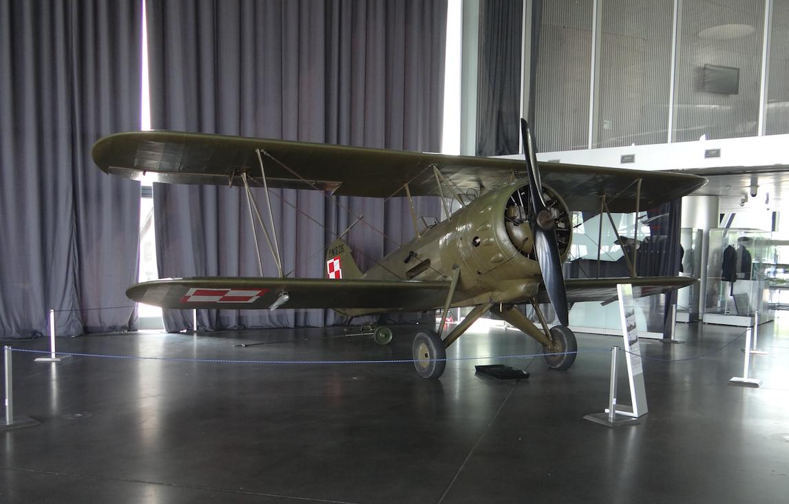 Podlaska Wytwórnia Samolotów PWS-26. Czyżyny 2019 rok. Zdjęcie Karol Placha Hetman