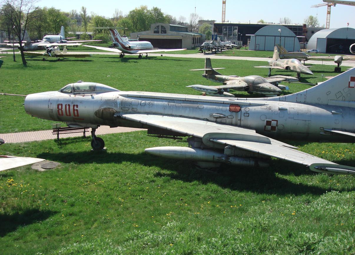 Su-7 BKL nb 806 nr 7806. 2009 rok. Zdjęcie Karol Placha Hetman