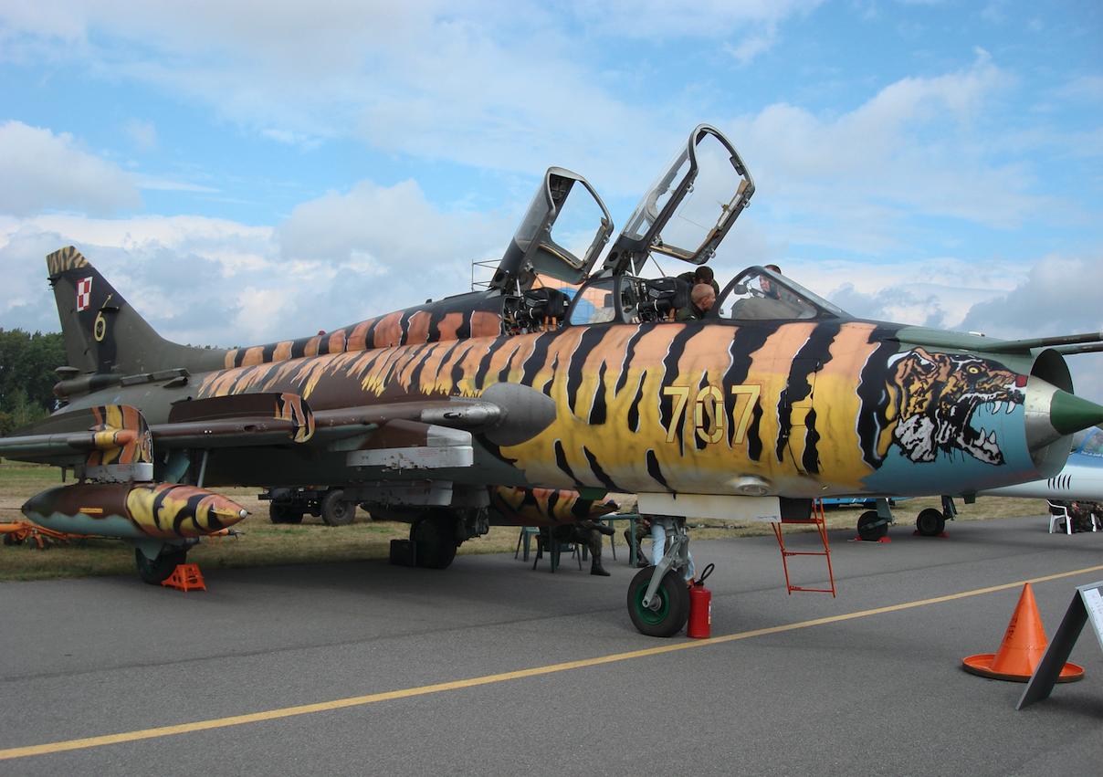 Su-22 nb 707 ze Świdwina. 2007 rok. Zdjęcie Karol Placha Hetman