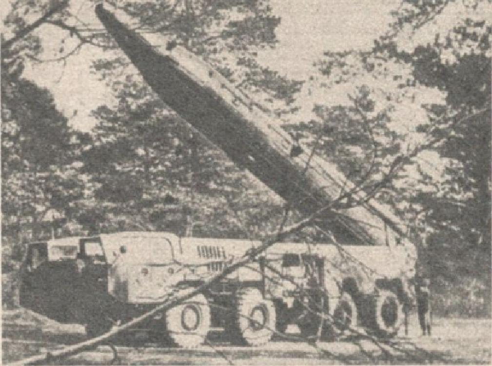 Rakieta SS-12. 1987 rok. Zdjęcie LAC