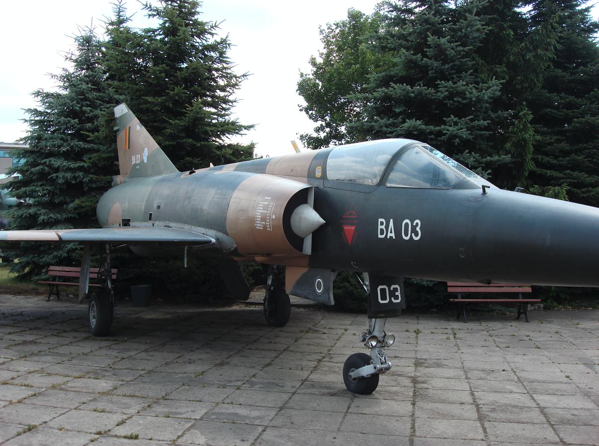 Mirage 5 BA 03. 2008 year. Photo by Karol Placha Hetman