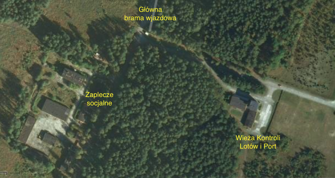 Obiekty Lotniska Szymany. 2012 rok. Praca Karol Placha Hetman