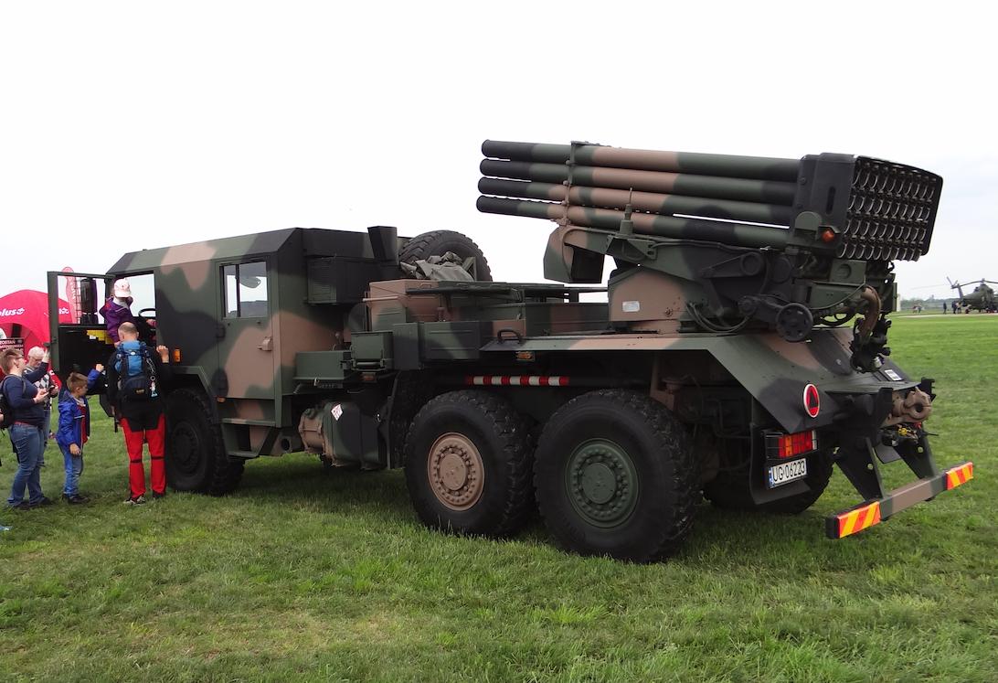 Artillery launcher WR-40 Jelcz. Inowrocław 2019. Photo by Karol Placha Hetman